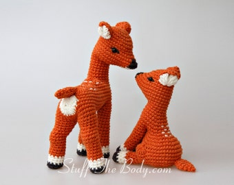 Tim and his Mommy Amigurumi Pattern, pattern bundle, mother's day, home decor, diy gifts, baby shower, birthday present, deers