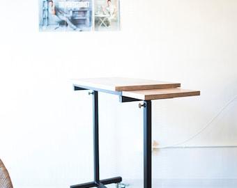 industrial table desk, industrial table, industrial desk, ADJUSTABLE, desk, rolling table, rolling desk, adjustable desk, adjustable table