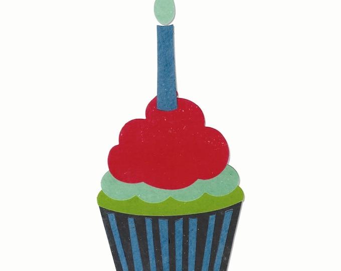 New! Sizzix Bigz Die - Cupcake by Echo Park Paper Co. 660450