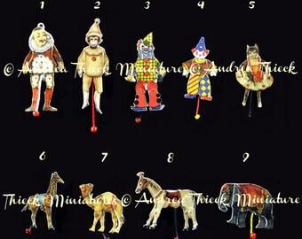 Circus Theme - Miniature Jumping Jacks