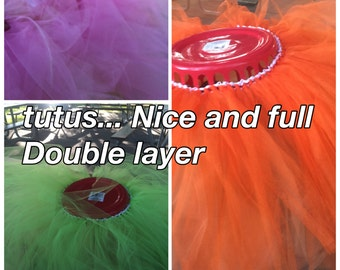 Tutu double layer... Girls size 10-16