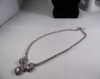 Crystal Rhinestone Necklace.