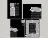 Lots To Say Set 3 - 8.5x11 Digital Scrapbooking Templates