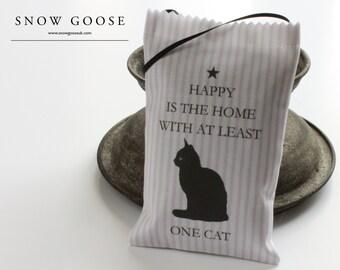 Happy Cat Lavender Bag