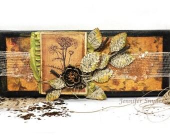 Golden Autumn  - Mixed Media Canvas