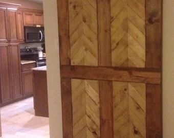 True north vintage sliding barn doors