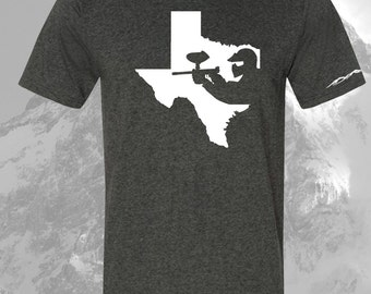 Paintball Shirt Texas ALL STATES AVAILABLE!!!