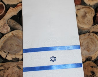 Hanukkah Towel  - Guest paper  towel (12 towels) - Disposable Towel - White Towel - Guest Towel