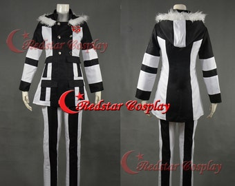 Hitman Reborn! Cosplay Superbia Squalo Cosplay Costume - Custom made in Any size