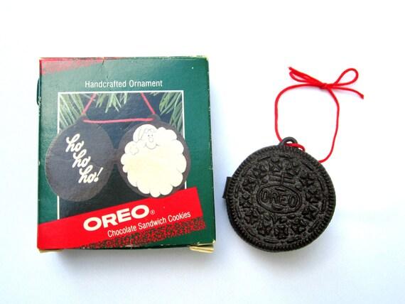 Oreo Cookie Ornament Vintage Hallmark Keepsake By