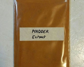 Madder Root Organic Extract -  Indian Madder Rubia cordifolia 50 gram