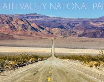 Death Valley National Park - Road (Art Prints available in multiple sizes)