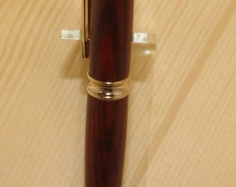 Wood Pen  - Hand-Made - Cocobolo - Patrizio - Cross Refill