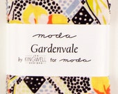 """CLEARANCE - Gardenvale Mini Charm by Jen Kingwell for Moda, 42 - 2 1/2"""" squares"""