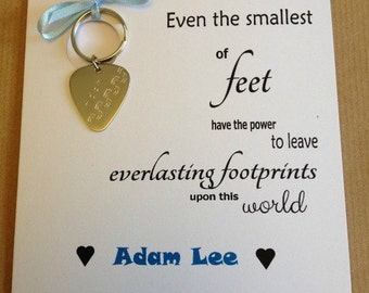 Keyring Gift Card - Even the Smallest of feet