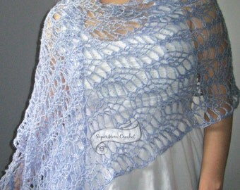 Lace Shawl Pineapples Wrap
