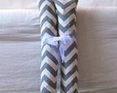 Boot Shaper Stands/Boot Forms - Gray Chevron