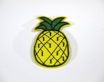 "Iron-on ""Pineapple"", applique, application (P46)"