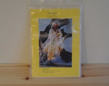 Cloth Doll Pattern, Tanya the Seaweed Collector, Heather Cooper.