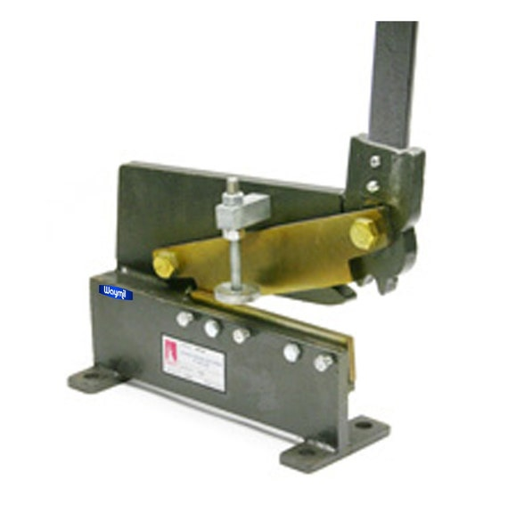 Steel Shear Metalworking New Zealand: Bench Shear 8 High Carbon Steel Blades Jewelry For