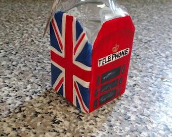 British- Themed Fish and Chips Vinegar Shaker