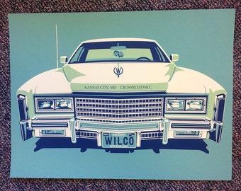 Wilco Kansas City poster