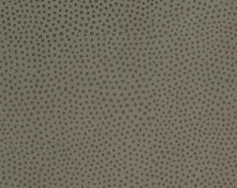 Moda - Puzzle Pieces - Design #1001 - Tonal Light Brown Polka Dots Pattern - Cotton Woven Fabric