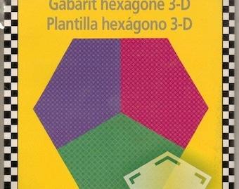 Omnigrid 3-D Hexagon Template - Ruler