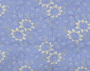 Lots of Charm - Light Blue - Cotton Woven Fabric