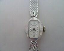 ladies hamilton watch, 17 jewel swiss movement watch, diamond watch