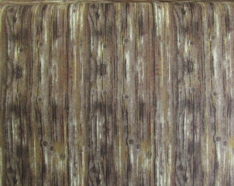 Realistic Brown Wood Fabric