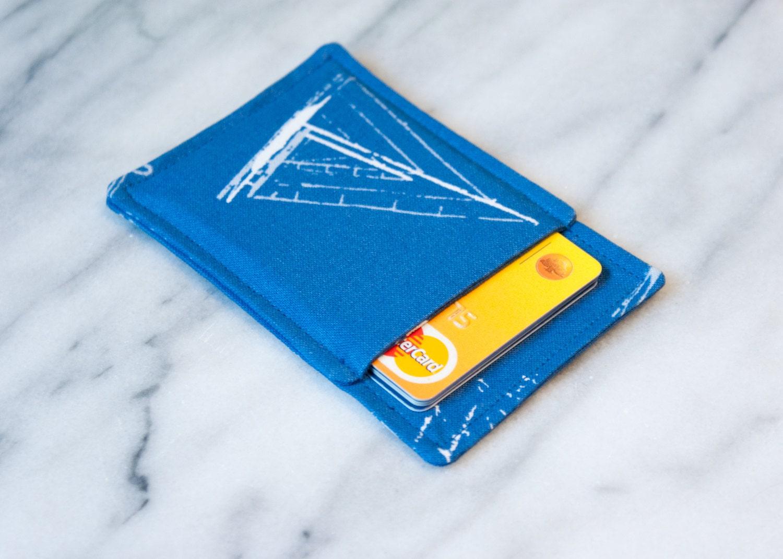 Mens pocket wallet Business card holder Business by Chockrosa