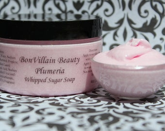 Plumeria Whipped Sugar Soap