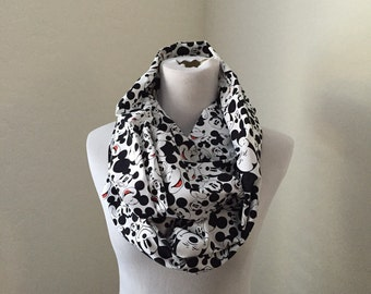 Mickey mouse scarf- now available in regular and infinity!