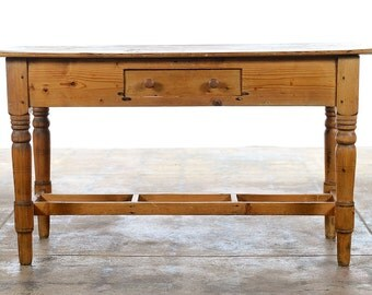 19th century French Pine Sofa Table c.1890s