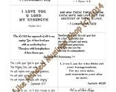 Bible Verse Cards Set Printable Instant Download Scripture Cards Digital Prints Scripture Memorization Encouragement Christian Gift