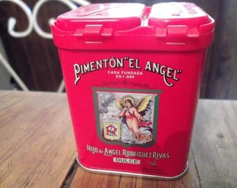 pimenton el angel,SMOKED SWEET SPANISH paprika, oak smoked, handmade, Caçeres, Extremadura, 2 oz, best quality