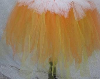 Candy Corn Adult Tutu, Party Tutu, Halloween Costume,Teen Tutu, Adult Costume, Photo Prop