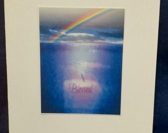 Blessed Rainbow Card