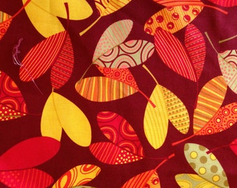 OWL BE THERE by Greta Lynn - Fabric - Kanvas - Benartex fabrics - Fall Colors - Quilting - Sewing - Home Decor - Autumn Leaves - Fall - Owls