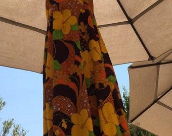 Lola Jrs Hawaii Hawaiian Vintage Dress
