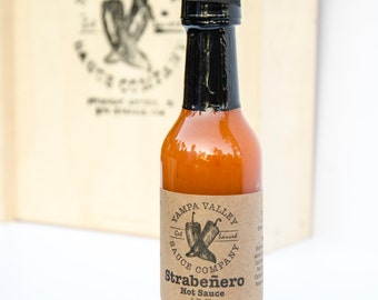 Strawberry and Habañero Hot Sauce