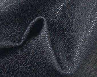 "Bitter Chocolate Leather Cow Hide 8"" x 10"" Pre-cut 3 ounces embossed grain TA-26963 (Sec. 4,Shelf 5,D)"