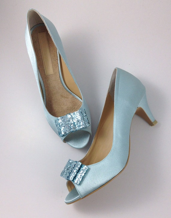 light blue wedding shoes items similar to something blue wedding shoes powder blue 5520