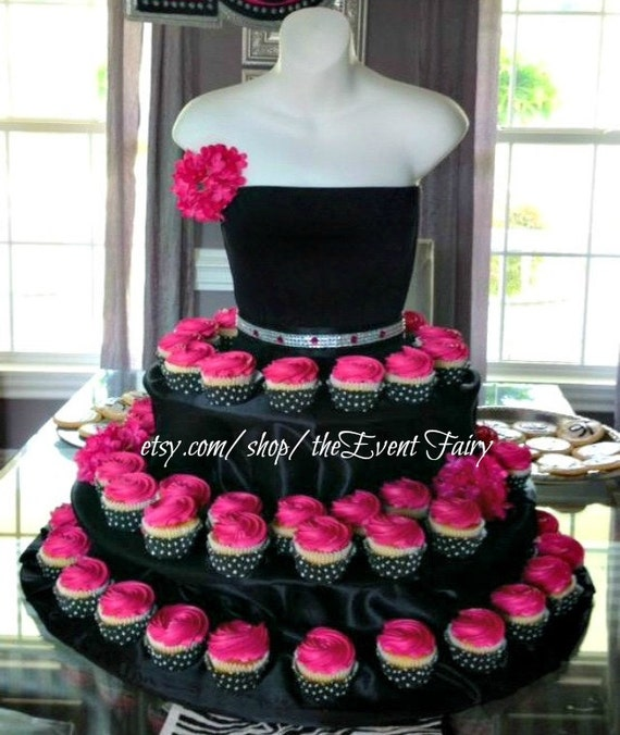 cupcake stand the couture cupcake stand birthdays parties bridal showers quinceaneras