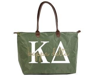 KD Kappa Delta Classic Script Tote Bag