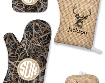 Personalized Mens Gift | Oven Mitt | Mens Gift | Gift for Him