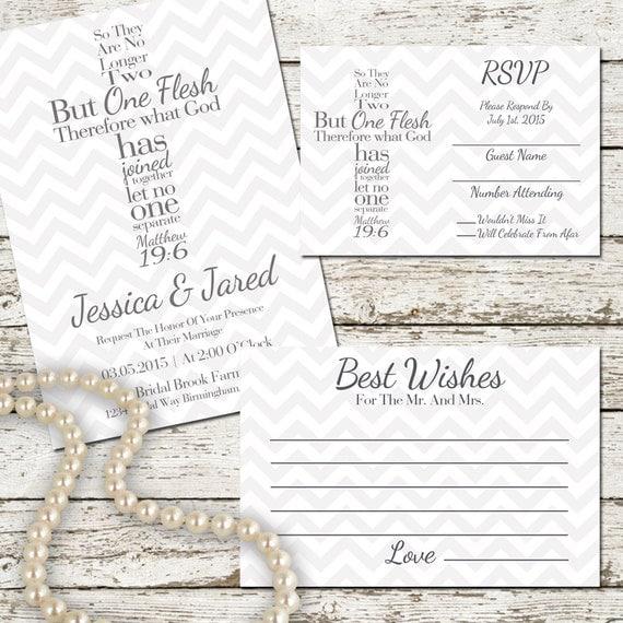 Best Bible Verse For Wedding Invitation: Cross Wedding Invitation Printable Set By SweetTeaAndACactus