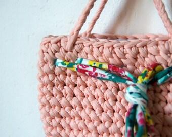 Pink purse girls, crochet purse, Girls pink purse, Small pink purse, girls purse, Summer purse crochet
