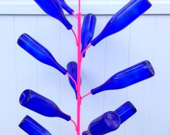 The Think Pink Breast Cancer Awareness Bottle Tree from Cubby's